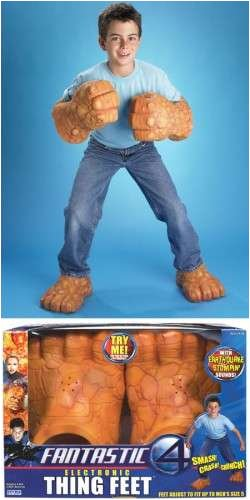 Fantastic 4: Thing Feet (Fantastic Four Thing Costume)