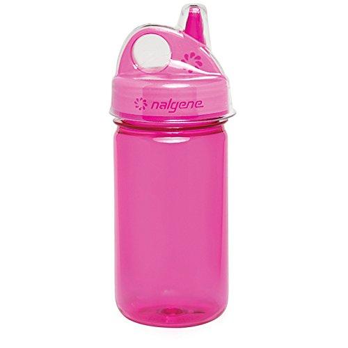 Nalgene Grip N-gulp - Nalgene Grip-N-Gulp Bottle with Cover, Pink, 32 oz