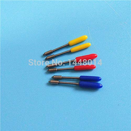 Printer Parts Icontec Graphtec Plotter CE5000 CB09 CE6000 Cutting Blade 30 45 60 Degree 10pcs Wholesale - (Color: 30 Degree)