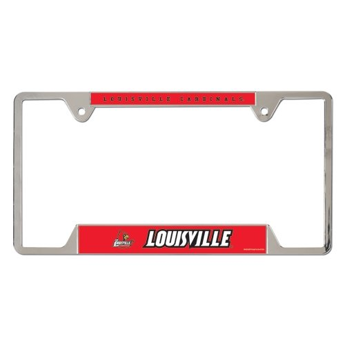 NCAA University of Louisville Metal License Plate Frame by WinCraft