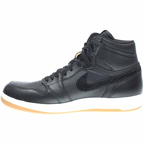 wholesale dealer a8bbe 591f2 ... Nike Jordan Herren Air Jordan 1 High Der Return Basketballschuh Schwarz    Miliz Grün   Weiß ...