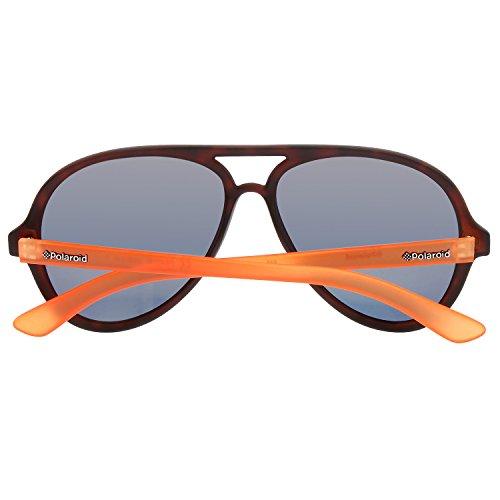 58 Grey Naranja Gafas Polaroid Pz LM Adulto P8401 Havorngfluo Goldmir Unisex de 0VB Sol q1fpOCw