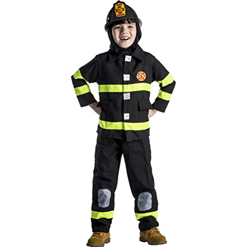 Deluxe Fire Fighter Costume (Deluxe Firefighter Costume)