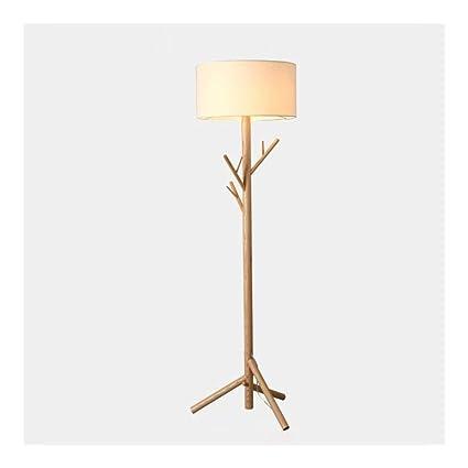 Floor Light Led Floor Lamp Nordic Wood Tree Branches Hanger