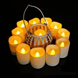 Review for Tker LED Tea Light Candles, Flameless Realistic and Flickeri... - Eva Connover - Blog Booster