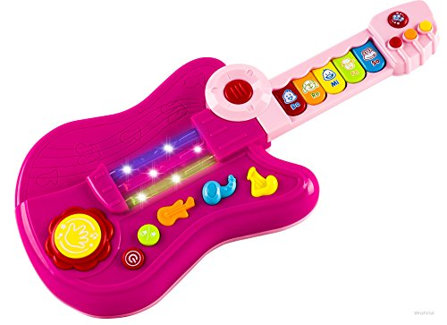 WolVol-3-in-1-Electric-Kids-Guitar-Toy-with-Violin-Stick-and-Piano-Transformation-For-Little-Girls