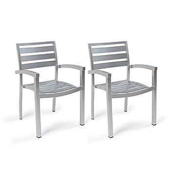 Centrosilla Sillón Lamas de Aluminio Eros para jardín ...
