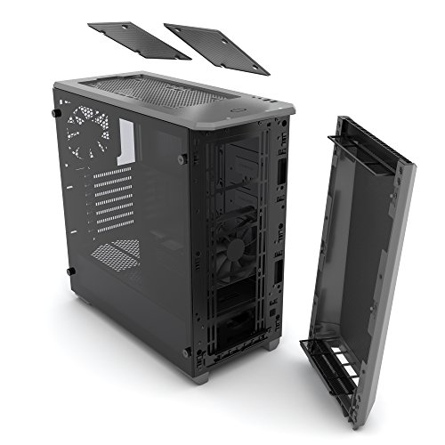 Phanteks PH-EC416PSTG_AG Eclipse P400S Silent Edition with Tempered Glass, Anthracite Grey Cases by Phanteks (Image #9)