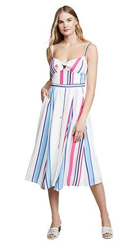 Yumi Kim Women's Pretty Woman Dress, Sideline, Off White, Stripe, X-Small