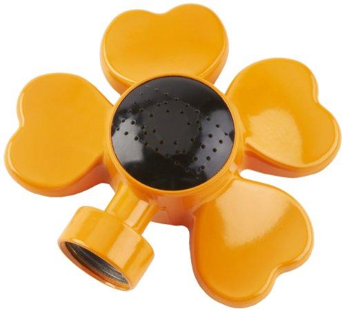 COLOURWAVE CW-901R-O Flower Design Circular Spot Sprinkler – Orange Review