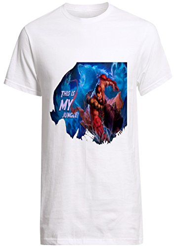 League of Legends Champion Udyr This Is My Jungle Shirt Custom Fruit of the Loom T-shirt (S)