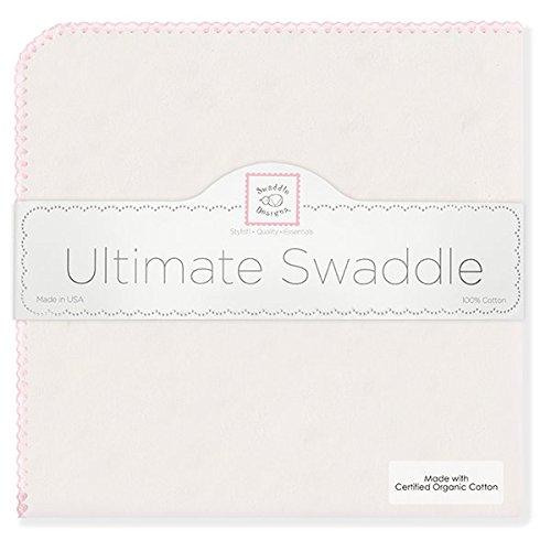 SwaddleDesigns Organic Ultimate Receiving Blanket