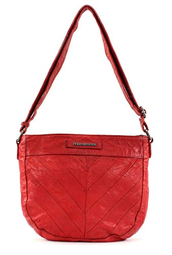 Red Half Fredsbruder Circle Shoulder Bag nwCnqZS70