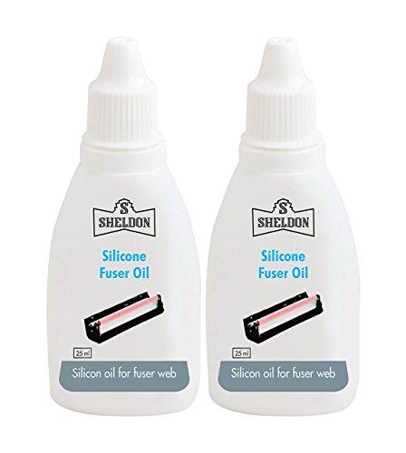 Sheldon Silicone Fuser Oil (25 Ml) (Combo Of 2)