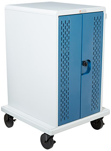 Tablet, Chromebook Cart. Secures And Recharges Up To 36 Devices. Includes 36 - Cart Storage Computer Bretford Laptop