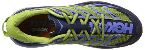 Hoka One Speedgoat, Zapatillas de Running para Asfalto para Mujer Azul (Medieval Blue/green Glow)