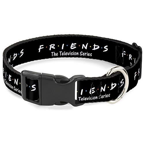 Buckle Down Dog Collar Plastic Clip Friends
