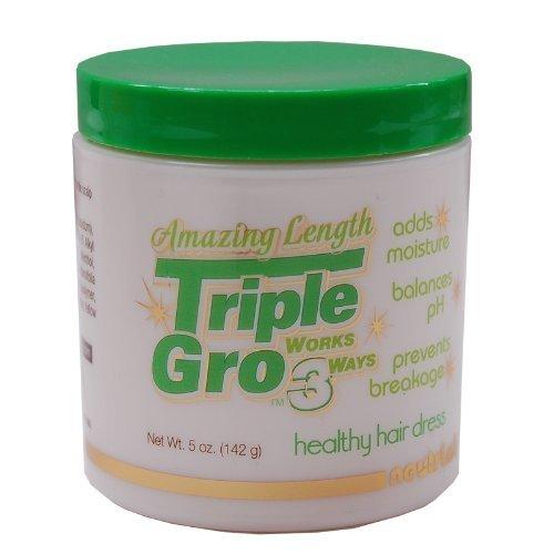 Triple Gro Healthy Hair Dress 5oz (Pack of 3)