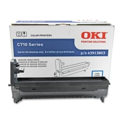 OKI43913803 - Oki Cyan Image Drum For C710 Series Printers ()