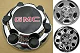 rims for a gmc sierra - 16 17 Inch OEM GMC 6 Lug Chrome Plated Center Cap Hubcap Wheel Rim Cover 1999-2013 1500 Pickup Truck VAN SUV Sierra Savana Yukon 5129 5223 7.25