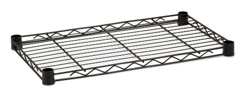 Honey-Can-Do SHF250B1636 Steel Wire Shelf for Urban Shelving Units, 250lbs Capacity, Black, 16Lx36W by Honey-Can-Do