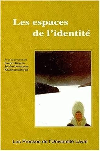 Livres LES ESPACES DE L'IDENTITE pdf ebook