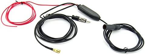 Antena Antena de Dab MCX Adaptador de Radio para autom/óvil con Conector MCX Antena 3m 9.8ft RG174 Antena para Radio de autom/óvil Blaupunkt TechniSat Pioneer Sony Kenwood Alpine Eightwood Dab