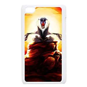 Disney The Lion King Character Rafiki iPod Touch 4 Case White TPU Phone Case SV_188357