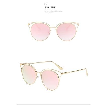 WZYMNTYJ Gafas de Sol Ojo de Gato Moda Mujer Gafas de Sol ...