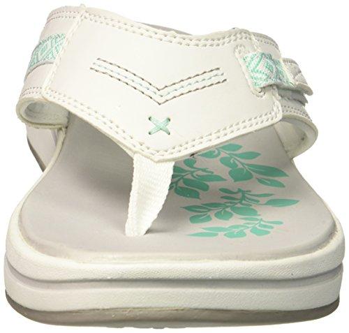 Upgrades Multi White Flop Flip Skechers Women's XUqx5wWH