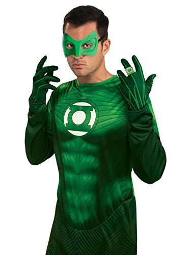 Green Lantern Adult Gloves, Green, One Size