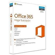 Microsoft Office 365 - Paquete Hogar, Para 5 PCs/Macs