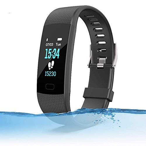 MayaStep Smart Watch and Fitness Tracker | Y1 Waterproof Heart Rate Monitor Digital Watch and Step Counter | Activity Tracker Fitness Watch Bracelet for Men and Women Uncategorized