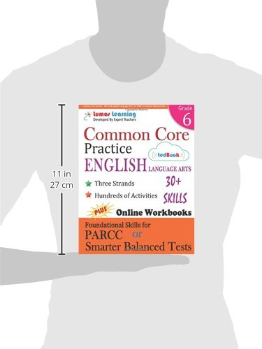 Amazon.com: Common Core Practice - 6th Grade English Language Arts ...