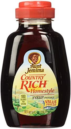 Honeys & Syrups: Aunt Jemima Country Rich Homestyle Syrup