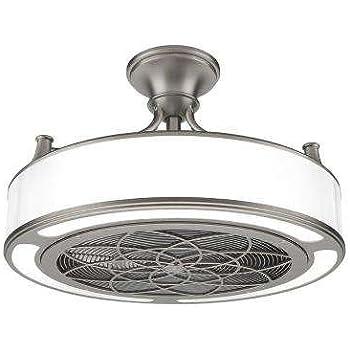 Stiles Anderson Cf0110 Indoor Outdoor Brushed Nickel Ceiling Fan 22 In Amazon Com