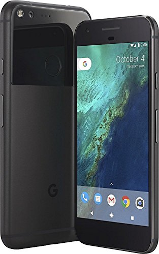 Google 32 GB Pixel Verizon and GSM Unlocked, Quite Black, 5 inch (Certified Refurbished) by Google