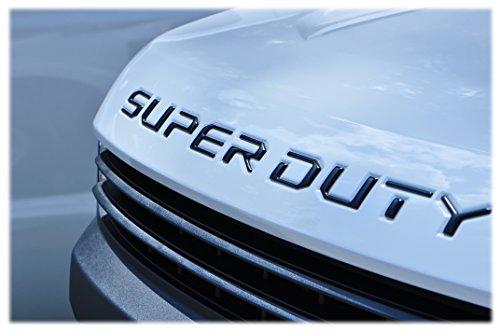 TUFSKINZ   2017-18 Ford Super Duty Hood Inserts (Matte Black)