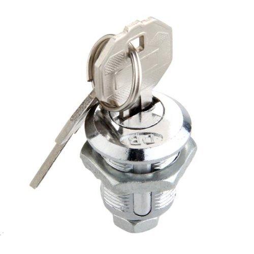 2/Cl/és Sunluxy Mall Cam Lock pour bo/îte aux Lettres tiroir 18/mm