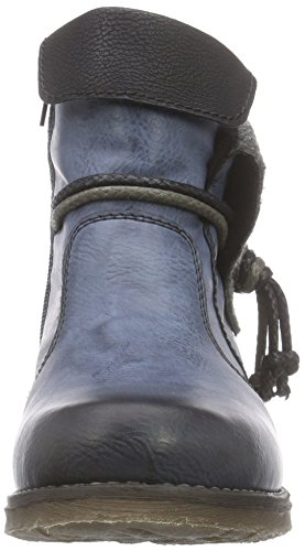 Rieker Fee 93 Women's Boot Ozean/Schwarz/Granit/Schwarz low shipping fee online shopping online for sale cEq9cw