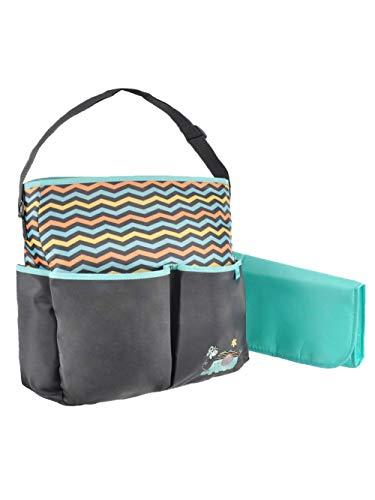 Baby Boom Elephant 8 Pockets Tote Diaper Bag