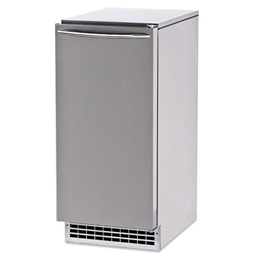 Maker Ice Undercounter Scotsman (Scotsman CU50GA-1A Undercounter Ice Maker, Gourmet Cube, Air Cooled, Gravity Drain with Cord, 115V/60/1-ph, 14.4 Amp (15 Amp Circuit Required), 14.9