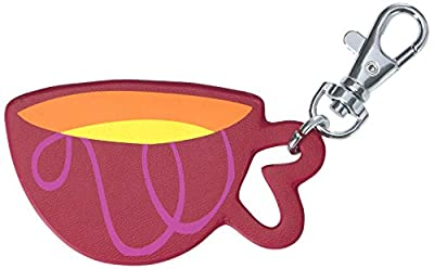Kipling Disney Alice in Wonderland Collection Tea Cup Key Chain