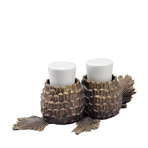 (Aspen Pinecone Salt and Pepper Shakers)