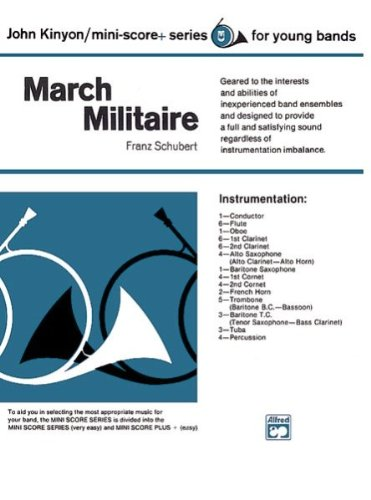 Buy alfred 00-930 march militaire music book