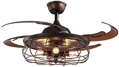 SILJOY Reversible Industrial Ceiling Fan
