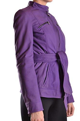 MCBI235026O Peuterey Mujer Abrigo Morado Cuero 5wZRw