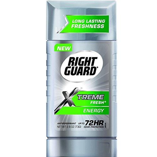Right Guard Xtreme Fresh Antiperspirant  Energy 2 60 Oz  Pack Of 6