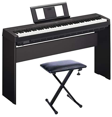 YAMAHA P45 Piano Digital + Soporte L85A + Banq