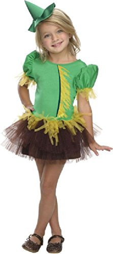 Ponce Girls Wizard of Oz Scarecrow Costume Scare Crow Tutu Dress Kids